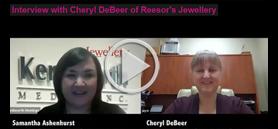 Catching up with… Cheryl DeBeer of Reesor's Jewellery