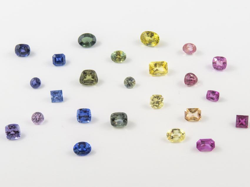 Multicolor Sapphires