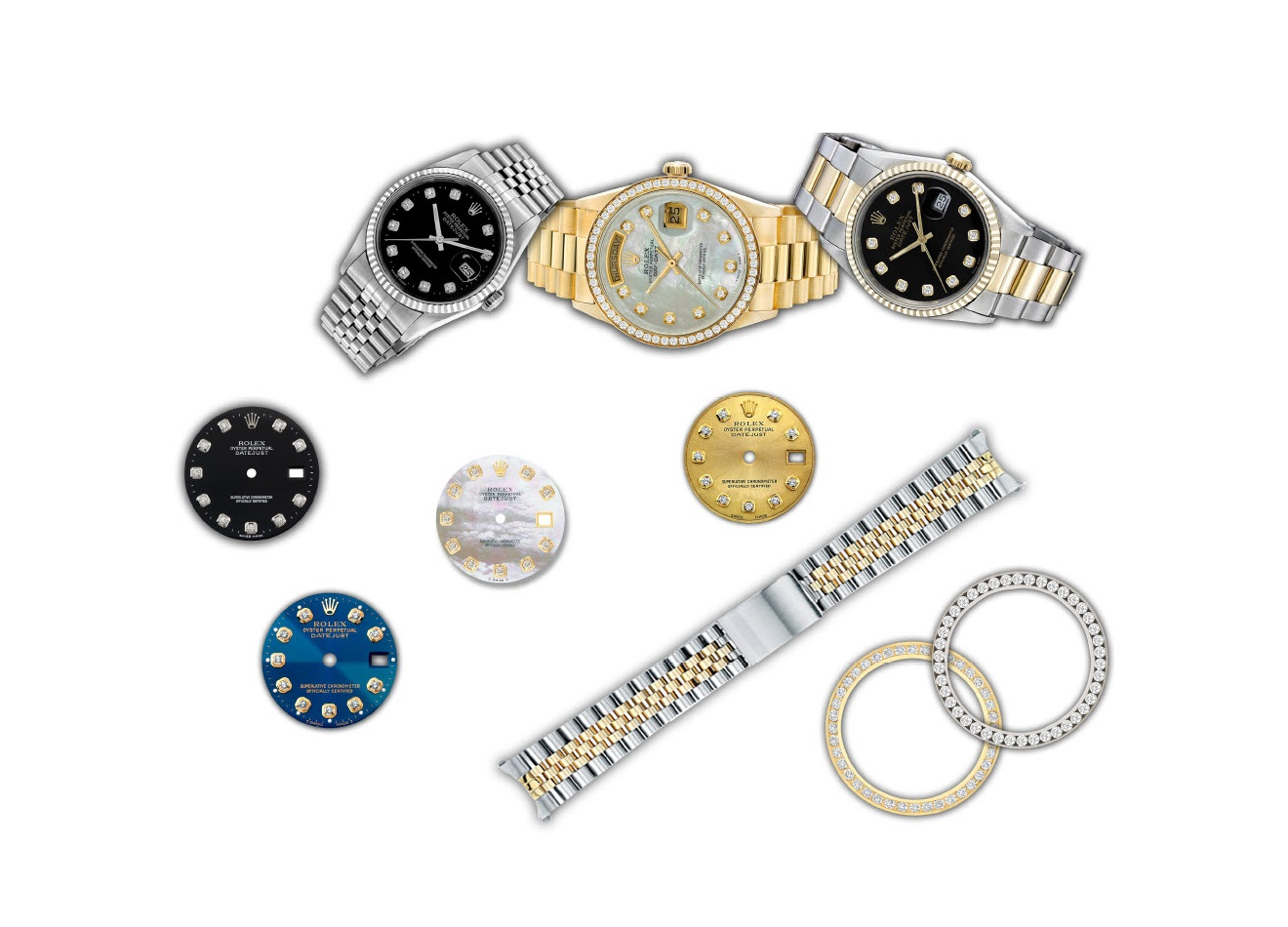 SWISS WATCH parts and accessories