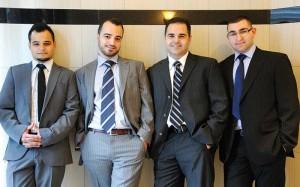 (Left to right) Aret Camgozlu, Levon Camgozlu, Apel Camgozlu, and Asbed Camgozlu, the next generation of Mary Jewellery & Lapidary Co.