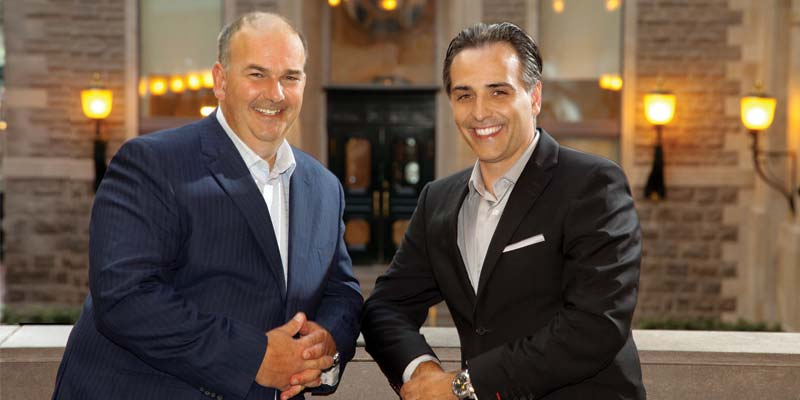 Sothil owners Sean Polan (left) and Chris Iliopoulos.