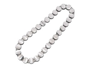 Sterling silver necklace by Georg Jensen.