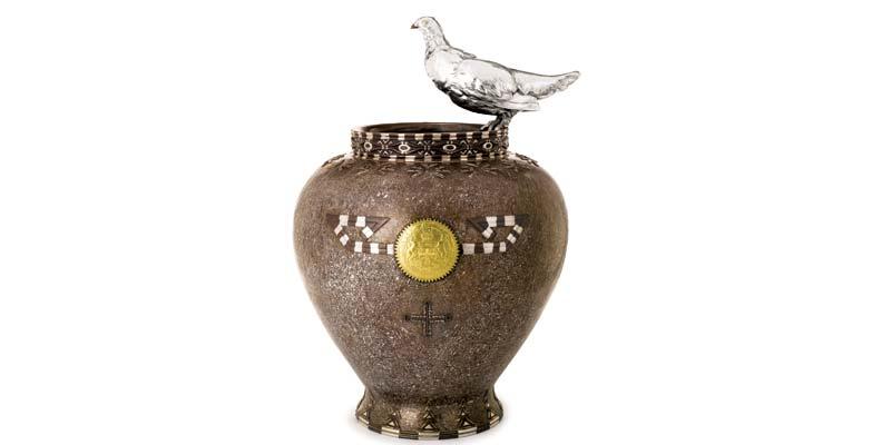 Americana - lot 114 Ptarmigan Vase