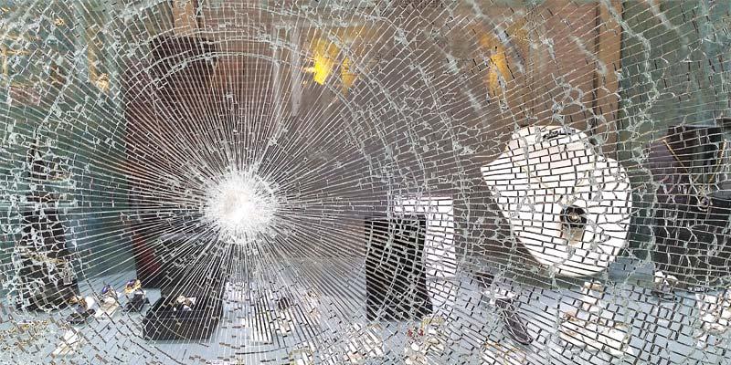 Photo 7 - Smashed window