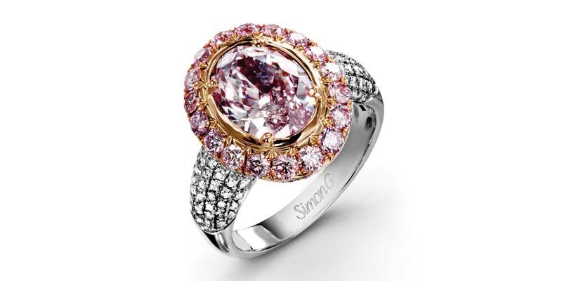Victor Pink Diamond Ring