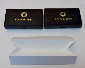 Regular cleaning of your diamond colour master set removes dirt and debris that may affect grading.