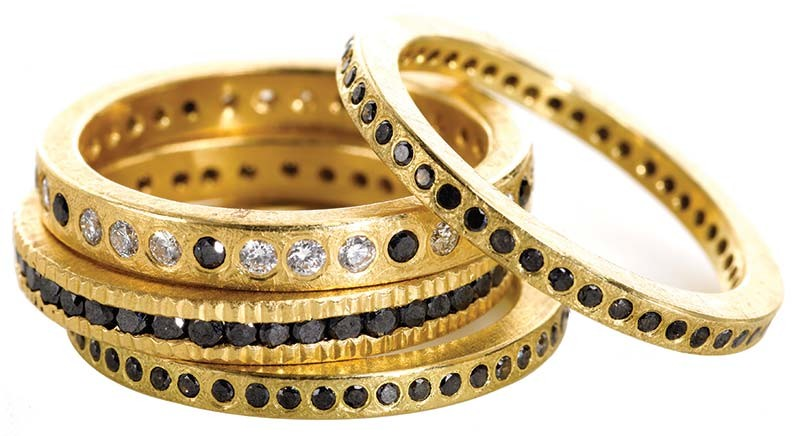 Appraisers should keep up on jewellery brands by reading trade and fashion magazines, attending trade shows, visiting local jewellery and department stores, and researching online vendors that carry designer jewellery.