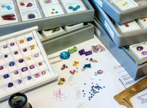 Every once in a while, pull your entire gemstone inventory out of the safe and become re-acquainted with it. This is a good way to remind you  of what you have and even inspire new designs for your showcase.