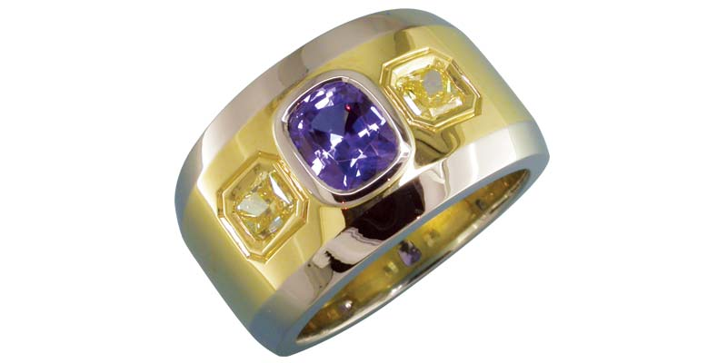 sapphire and yellow radiants