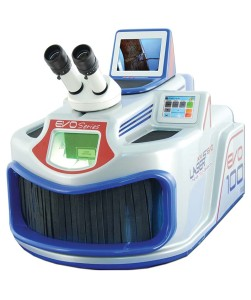 The Laser Welder Evo with on-board camera and wide entrance for restriction-free access.