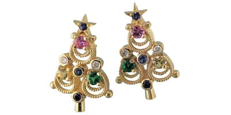 earrings-christmas-trees-birthstones-18K-y