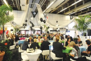 Special events and social gatherings at trade shows are prime opportunities for networking.