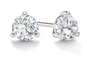 Diamond-Ear-Studs