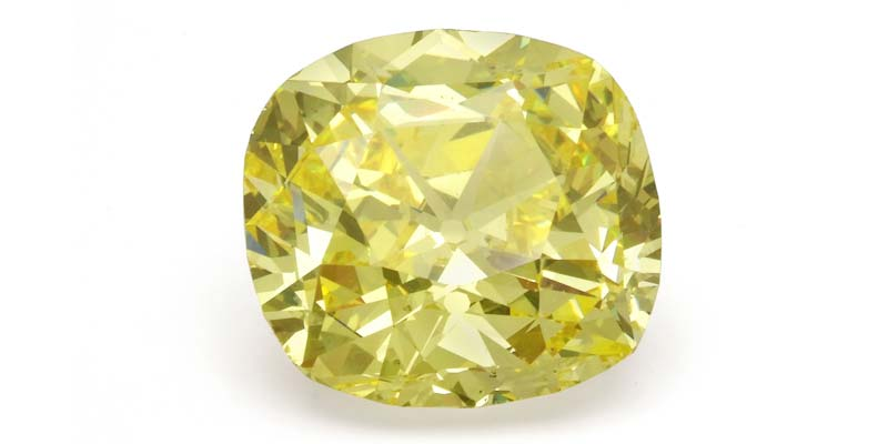 The Symbolic Yellow Diamond; a 114-carat, vivid yellow diamond