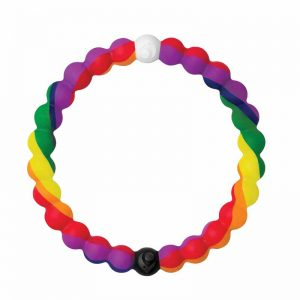 'Pride' bracelet by Lokai, available in four sizes.