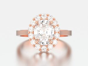 Six- to 10-carat fancy-cut diamonds are finding success in the current market, with oval cuts at the fore. Photo © www.bigstockphoto.com