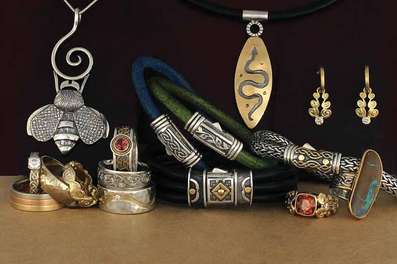 All photos courtesy Reflective Jewelry