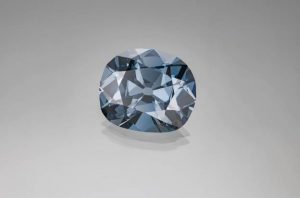New research has revealed a possible answer to the question of how blue diamonds get their colour. The Hope diamond, pictured, is among the world's most famous blue diamonds. Photo by Robert Weldon © GIA. Photo courtesy Smithsonian Institution
