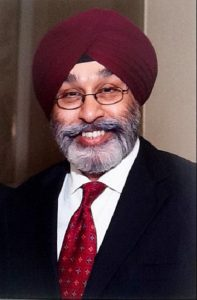 Ruben Bindra of B & B Fine Gems has been named president of the American Gem Trade Association's (AGTA's) Board of Directors. Photo courtesy AGTA