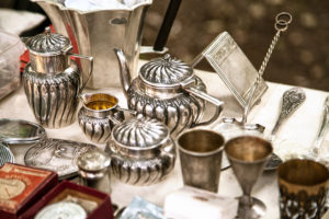 Hallmarks can be used to distinguish non-jewellery silver items as well. Photo © www.bigstockphoto.com