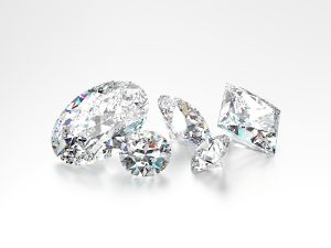 Diamond price declines were observed across the board in the month of September. Photo © www.bigstockphoto.com