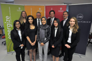 Scholarship recipients from the University of Calgary for 2018/2019. Photo courtesy De Beers Canada