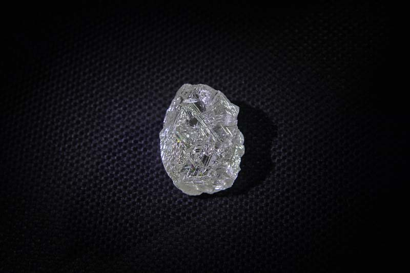 A diamond weighing 191.46 carats has been discovered at the Udachnaya kimberlite pipe in Russia.