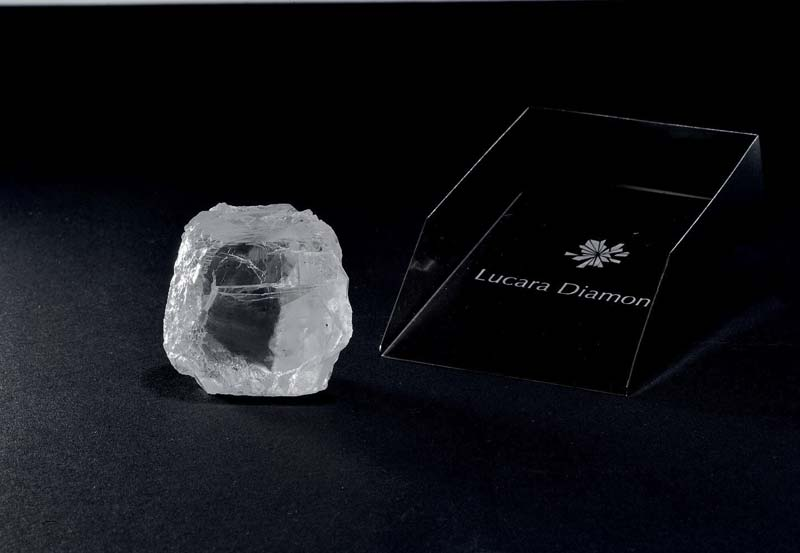 Lucara Diamond has recovered a 240-carat, top white gem diamond at its Karowe mine in Botswana.
