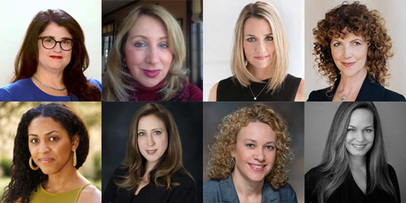 Top row: Jacqueline Cassaway, Jacqueline Raffi, Kristyn Beausoleil, and Monica Stephenson. Bottom row: Morgan Miller, Susan Chandler, Tina Olm, and Tonia Zehrer.
