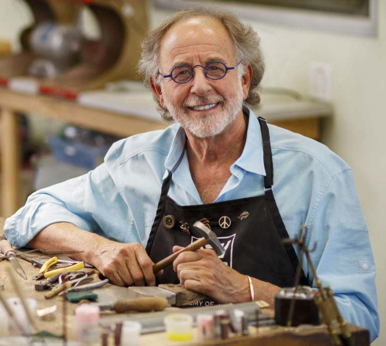Alan Revere, founder of the Revere Academy of Jewelry Arts, is the fifth-ever recipient of the American Jewelry Design Council's Benne Award for Lifetime Achievement.