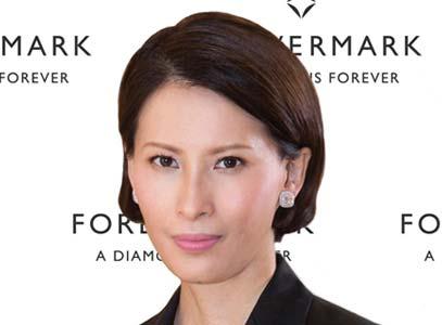 Nancy Liu has been named CEO of De Beers subsidiary Forevermark.