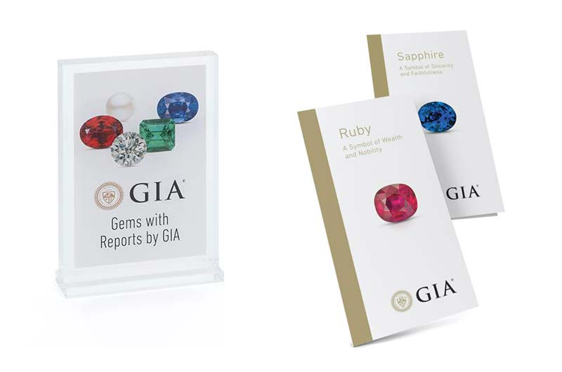 The Gemological Institute of America (GIA) has added an enhanced collection of coloured stone materials to its Retail Support Program.