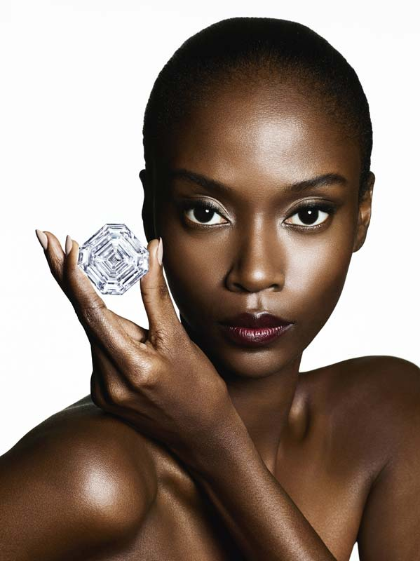 The 302.37-carat diamond was cut and polished from a rough stone weighing 1109-carats.