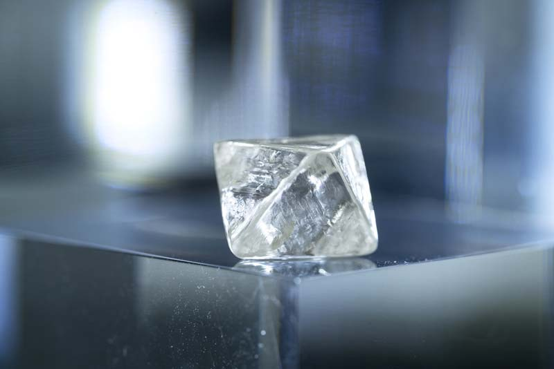 A 28.84-carat rough diamond, dubbed 'Argyle Octavia' in recognition of its octahedral shape, has been recovered from Rio Tinto's Argyle mine.