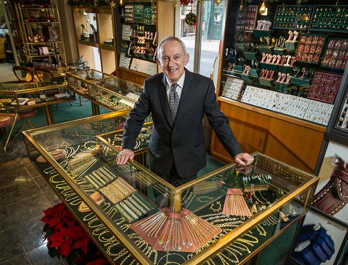 Award-winning designer Socrates Reppas was informed three weeks ago he would have to vacate the site that has housed his business, Marquis Jewellers, for the past 46 years.