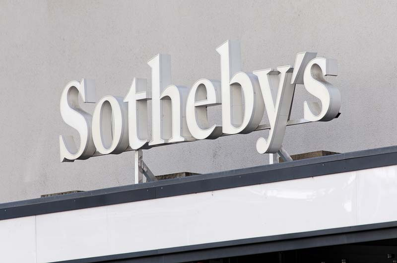 Auction house Sotheby's has been sold for $US3.7 billion.
