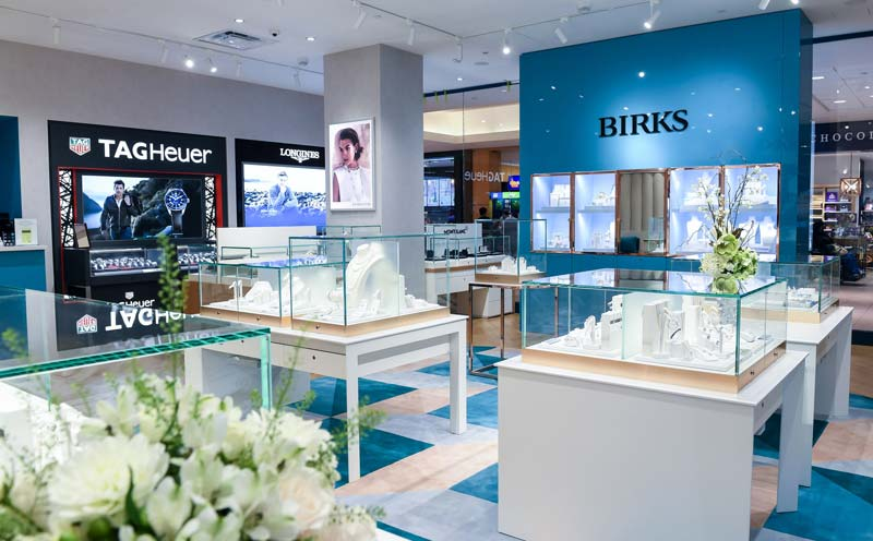 The design of the brand's new concept store at Fairview Mall is similar to that of the flagship location.
