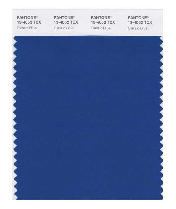 The timeless and enduring 'Classic Blue' has been named Pantone Color Insitute's colour of the year for 2020.