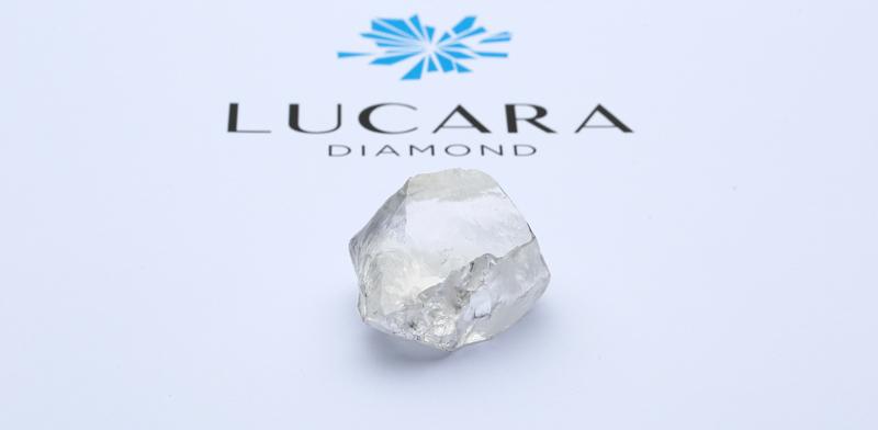 Lucara Diamond has recovered a 549-carat white diamond from its Karowe Mine.