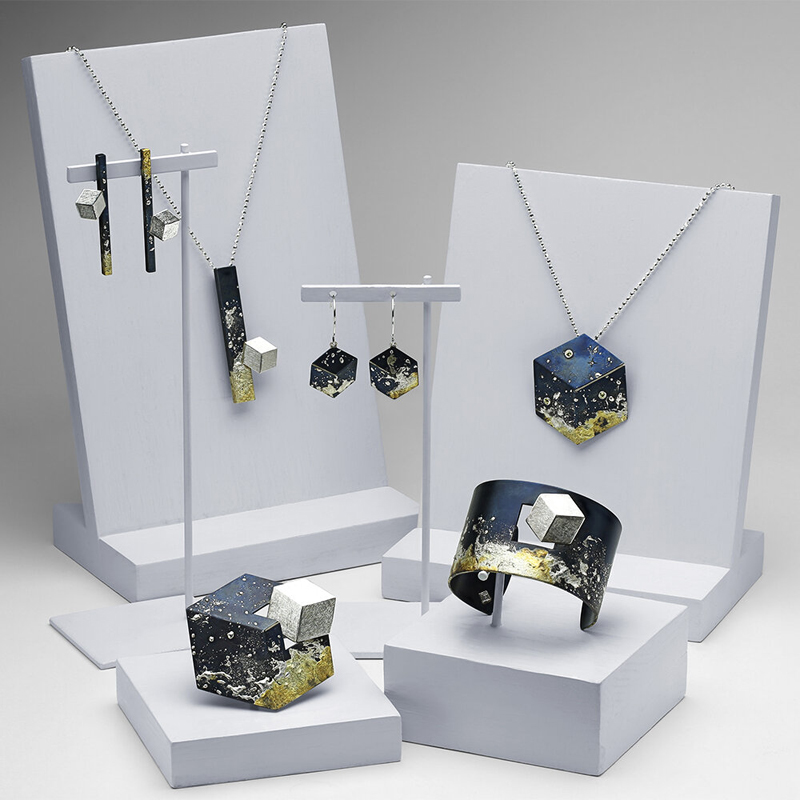 Deborah Vivas' 'Meeting Series' is a Saul Bell Award finalist in the jewellery collection category.
