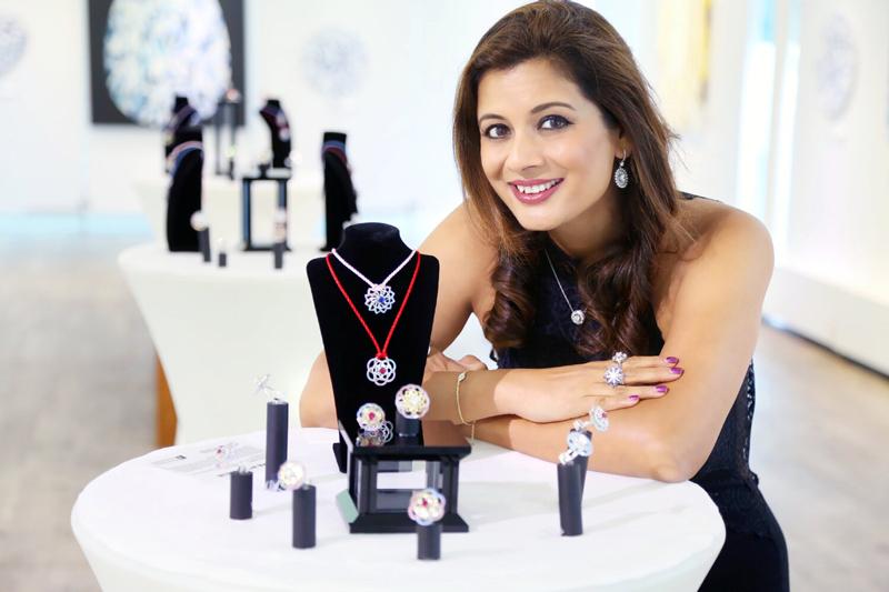 Toronto-based jewellery designer and artist, Reena Ahluwalia. Photos courtesy Reena Ahluwalia