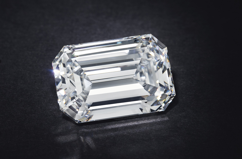 A 28.86-carat D-colour diamond sold for $2,115,000 at Christie's Jewels Online.