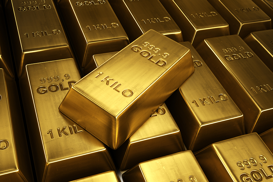 The spot price of gold has surpassed $1800 an ounce.