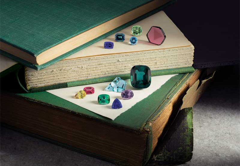 Unlike diamonds, which are largely concentrated in a few key geographic locations, gemstones are mined all over the world.