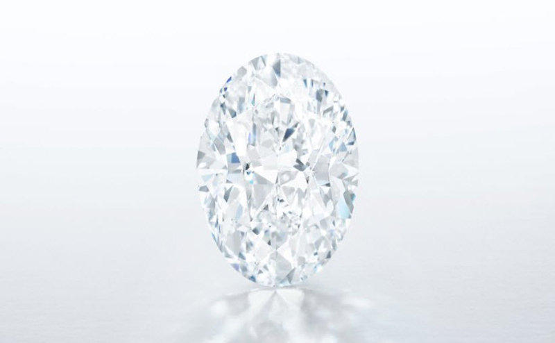 A 102.39-carat D-colour, flawless white diamond sold for HK$122 million (approximately C$20.9 million) at auction.