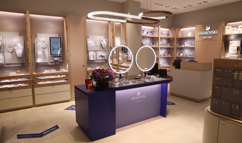 Swarovski has opened a Crystal Studio 'digital concept' store in Toronto, marking the concept's foray into Canada. Photo courtesy Swarovski