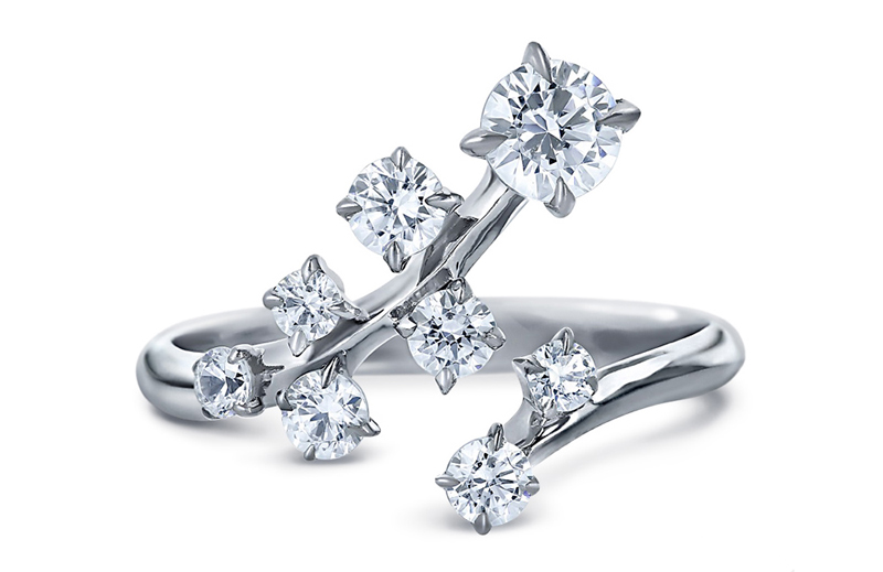 Swarovski-created synthetic diamond ring. Photo courtesy Bob Thompson