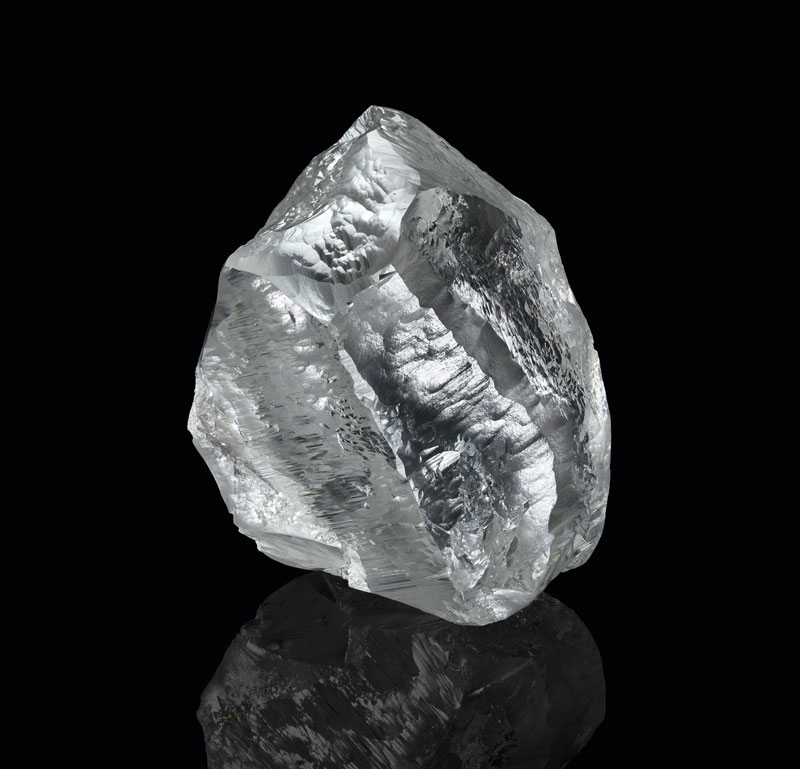 Louis Vuitton, Lucara Diamond, and HB Antwerp are set to collaborate on the cutting, polishing, and manufacturing of Sethunya, a 549-carat rough diamond.Photo by Philippe Lacombe/courtesy Louis Vuitton