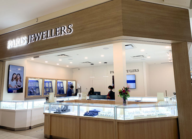 Canadian-owned company Paris Jewellers has opened a new location in Edmonton, Alta. Photo courtesy Paris Jewellers
