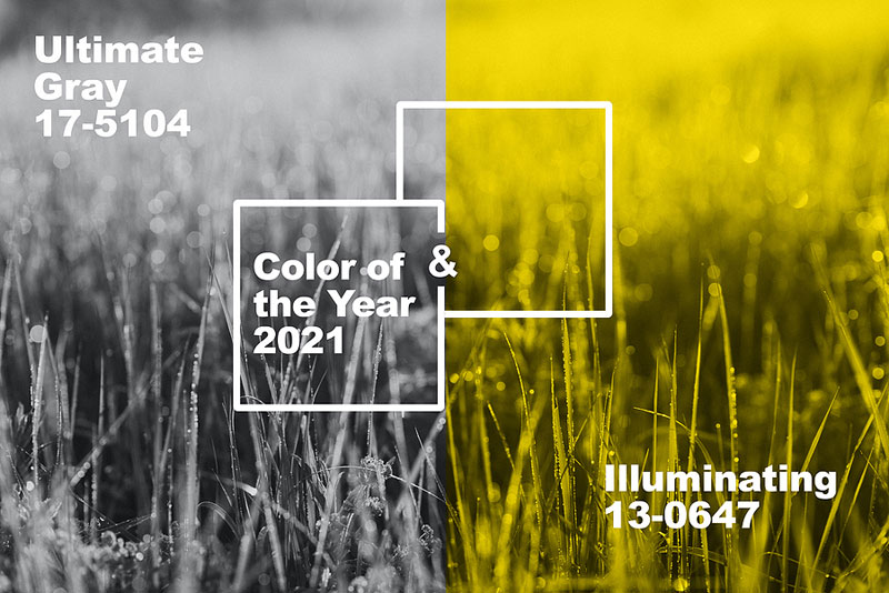 Pantone Color Institute has named two colours—'Ultimate Gray' and 'Illuminating'—as its 2021 Color(s) of the Year. Photo ©BigStockPhoto.com